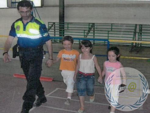 LA DESCRIPCIÓN EN 4º. PEDRO CASADO, EL AMIGO POLICÍA.