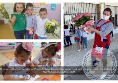 Ofrenda floral a Santa Potenciana