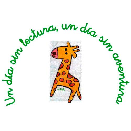 Lea, mascota de la biblioteca del CEIP Santa Potenciana
