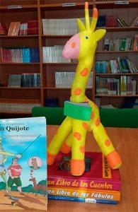 Lea la jirafa